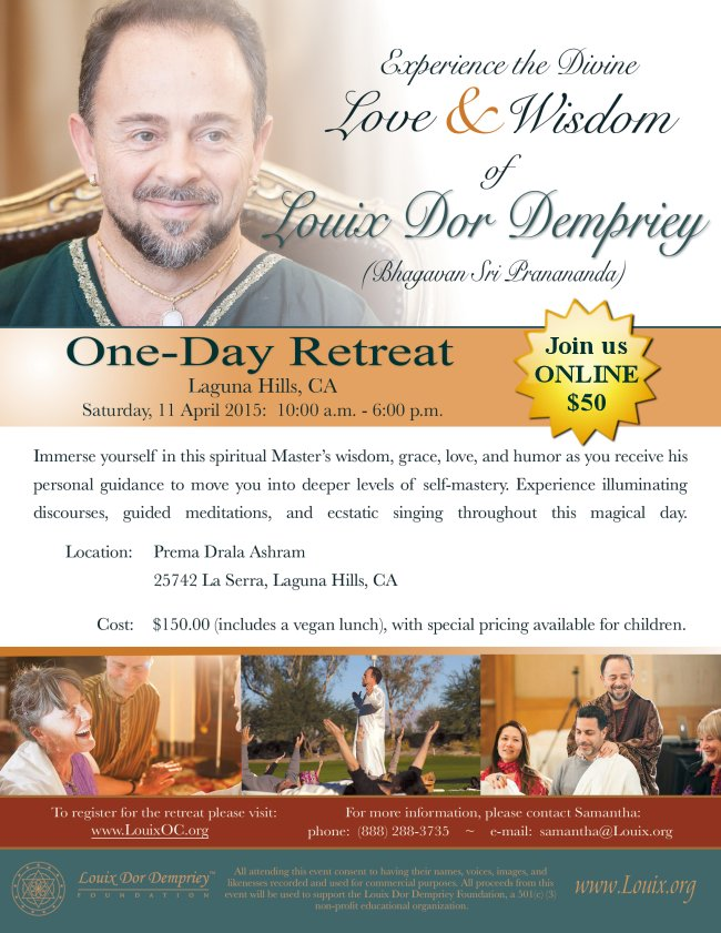 One-day Retreat with Louix - 11 Apr 2015