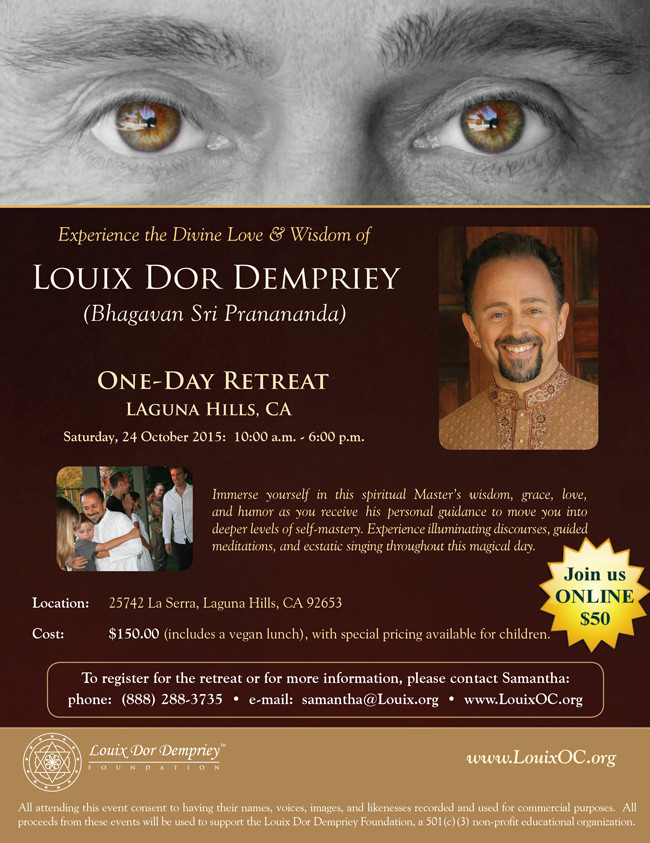 One Day Retreat with Louix - 24 Oct 2015